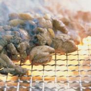 宮崎鶏の炭火焼き